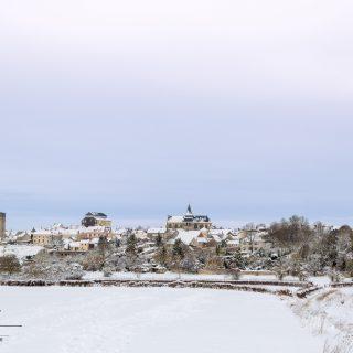Photographie de paysage – Houdan sous la neige – Yvelines (78), Île-de-France