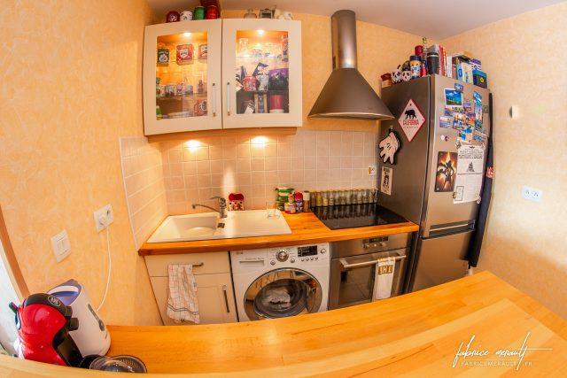 Photographie immobilière - Cuisine aménagée