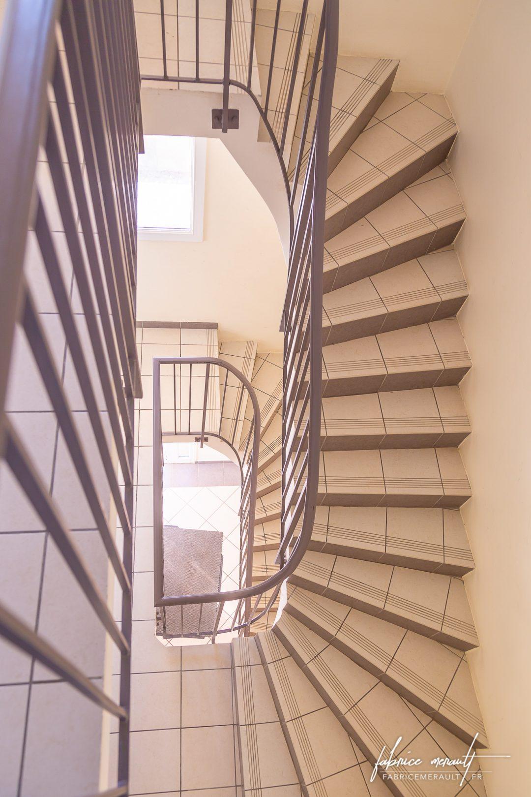 Photographie immobilière - Escalier
