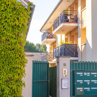 Photographie immobilière – Entrée de la copropriété