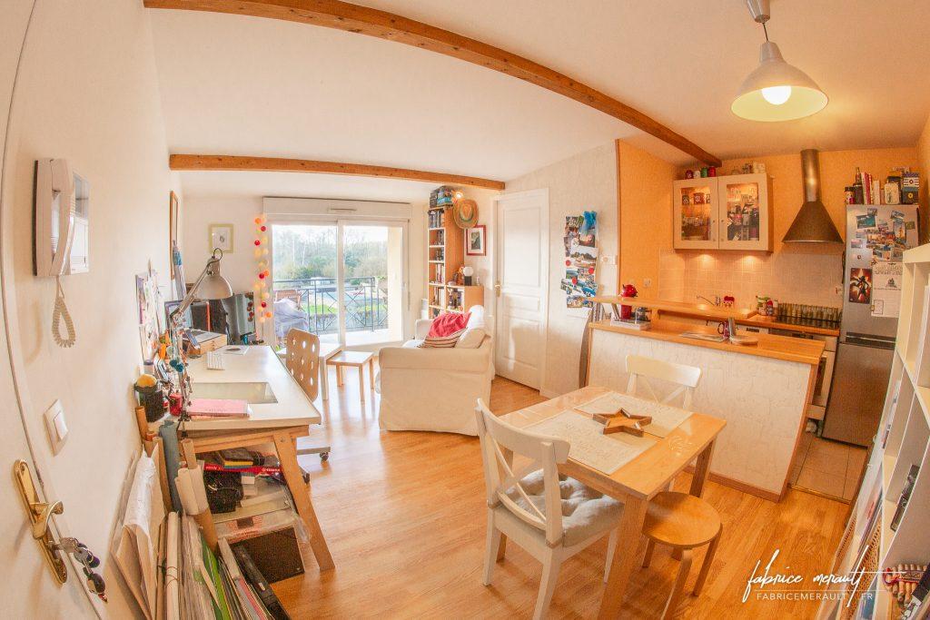 Photographie immobilière - Salon cosy