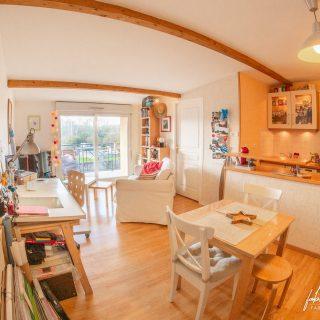 Photographie immobilière – Salon cosy
