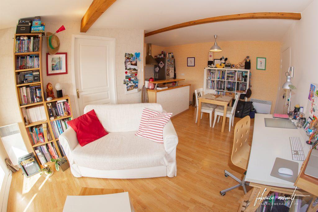 Photographie immobilière - Salon