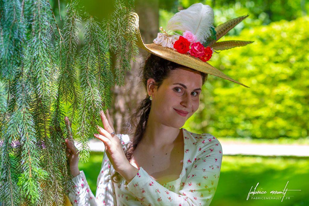 """""""Audrey"""" dans le parc du Château de Vaux-le-Vicomte"""