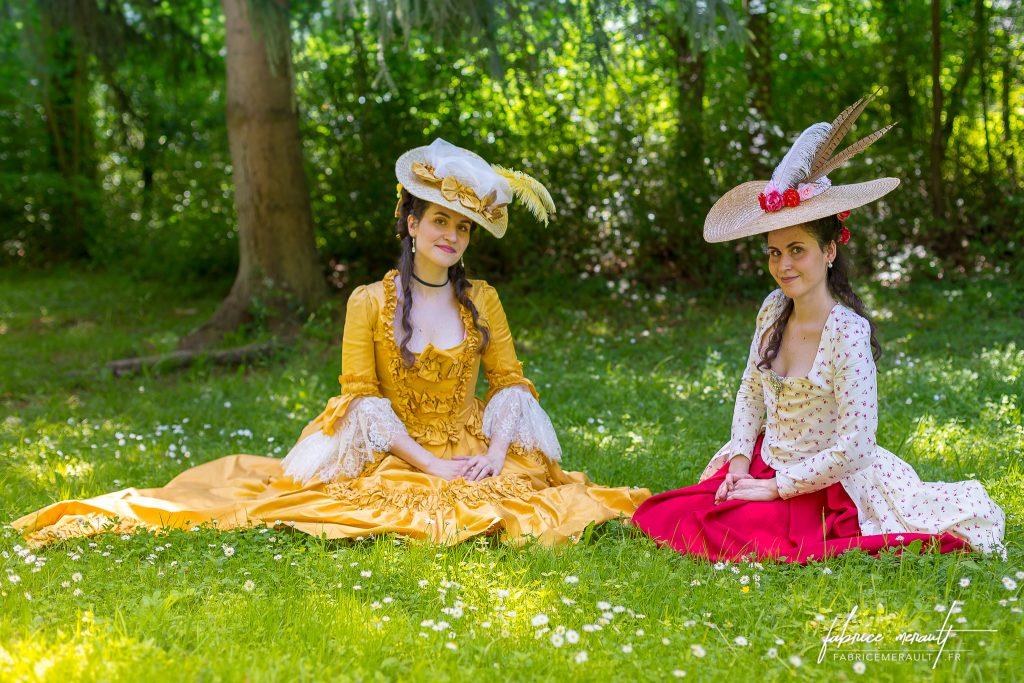 """""""Melly & Audrey"""" dans le parc du Château de Vaux-le-Vicomte"""