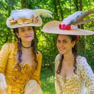 «Melly & Audrey» dans le parc du Château de Vaux-le-Vicomte