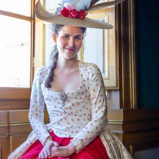 «Audrey» dans le Château de Vaux-le-Vicomte