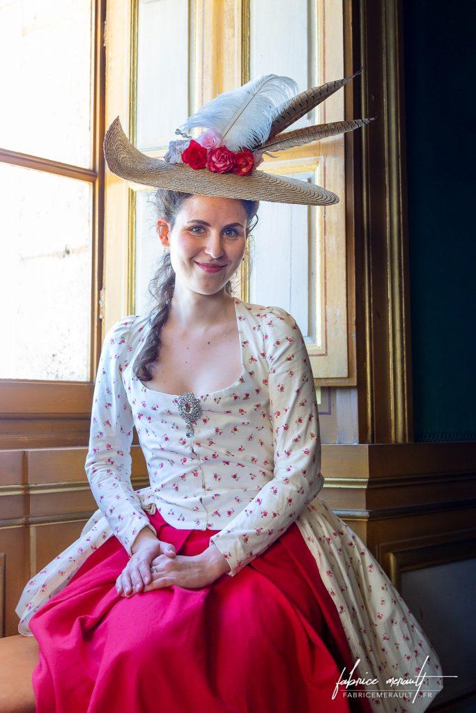 """""""Audrey"""" dans le Château de Vaux-le-Vicomte"""