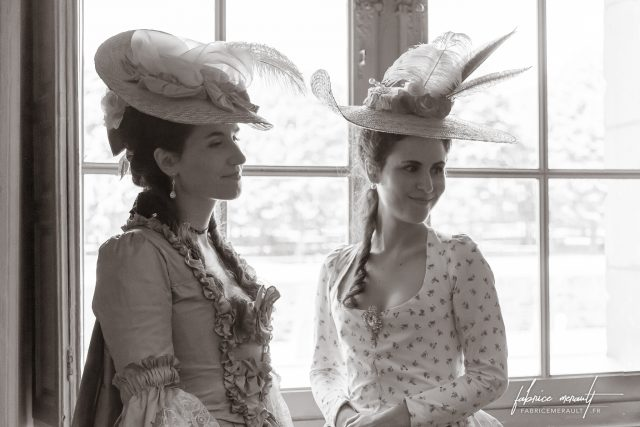 """""""Melly & Audrey"""" dans le Château de Vaux-le-Vicomte"""